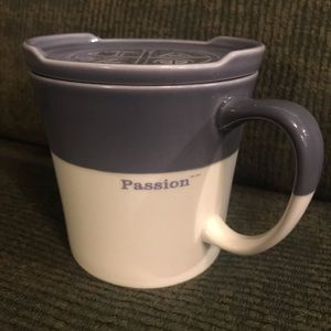Starbucks 2010 TAZO Passion Mug With Lid